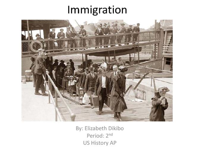 Immigration :)