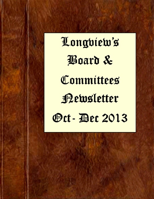 Board and Committee Newsletter-4th Quarter-2013
