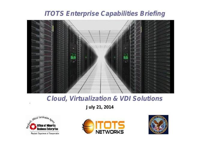 ITOTS Company Briefing