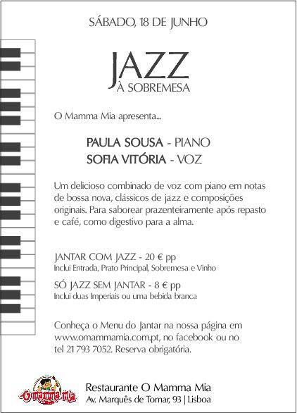 Jazz à Sobremesa