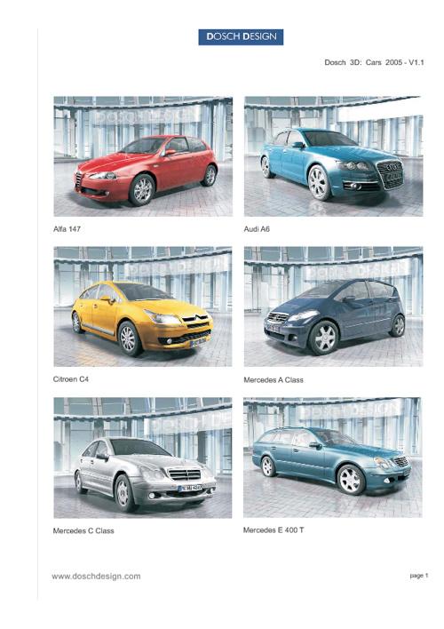22_DOSCH 3D - Cars 2005
