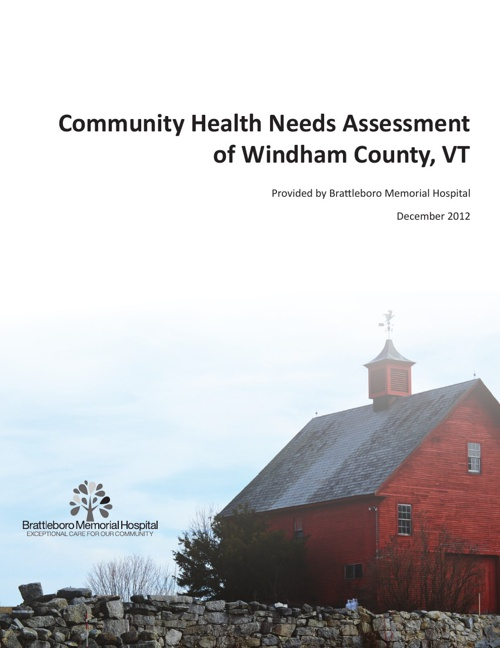 Brattleboro Memorial Hospital Community Health Needs Assessment