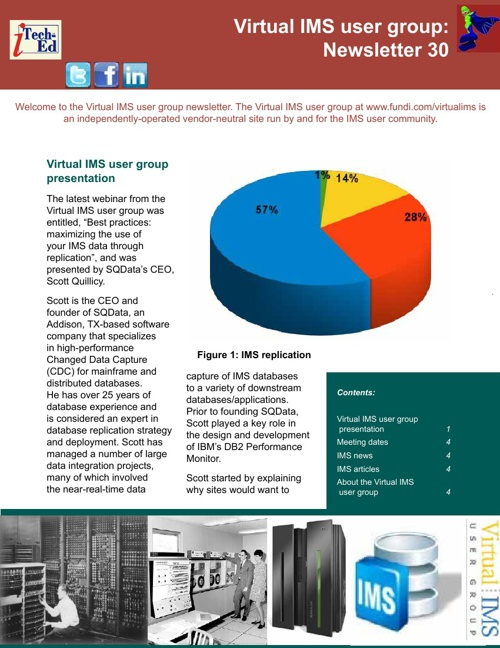 Virtual IMS newsletter 30