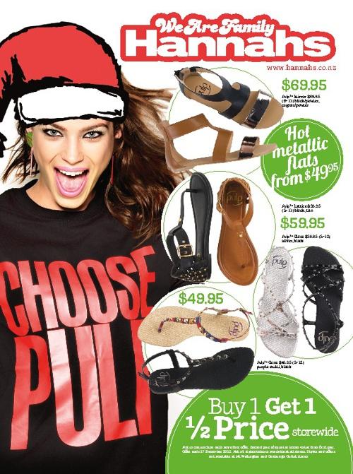 Hannahs December mailer 2012