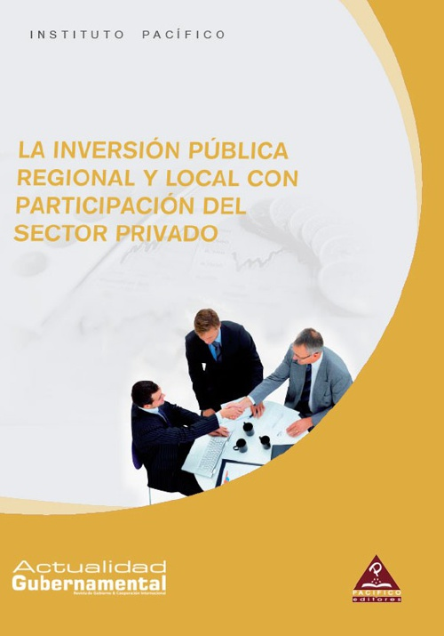 La inversión pública regional y local con participación del sect