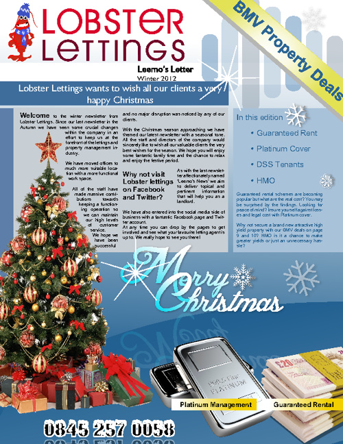 Leemos News December 2012