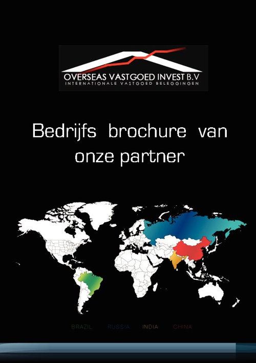 Bedrijfs Brochure Bric Investments