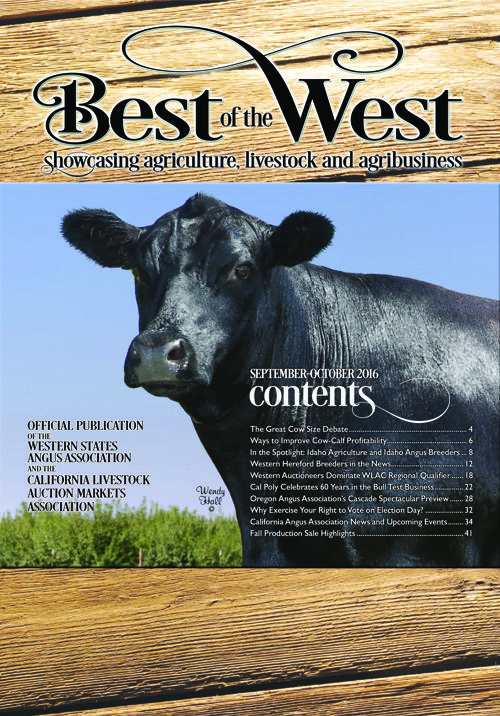 Best of the West Fall 2016