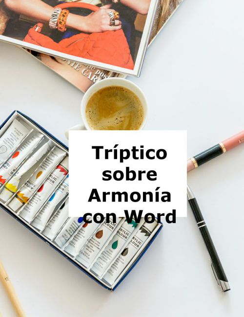 Triptico sobre armonia de word