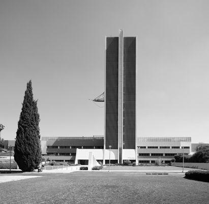 Sun Tower Building in Weizmann Academy