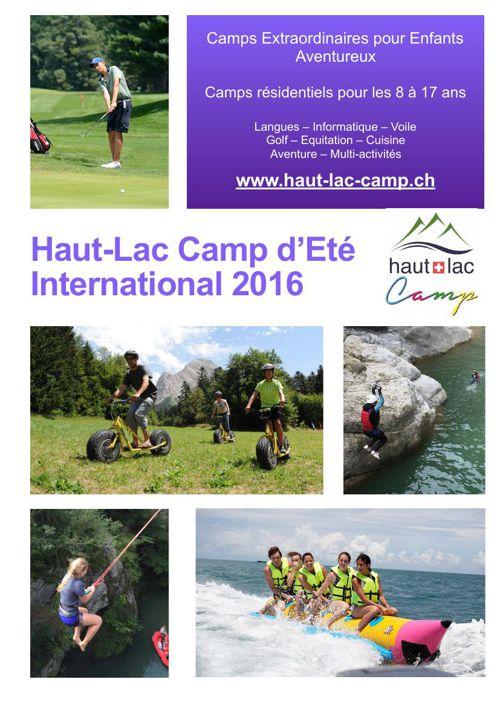 Summer Brochure 2016 Français