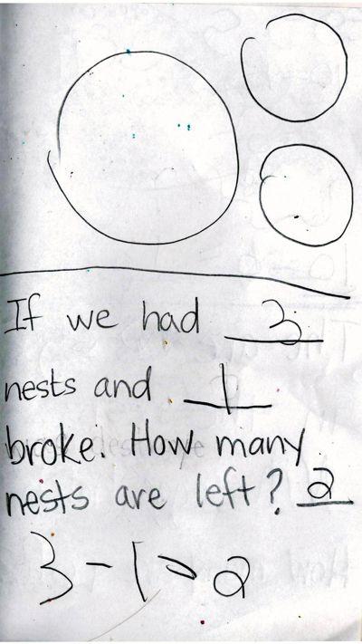 Rhett's Subtraction Storybook