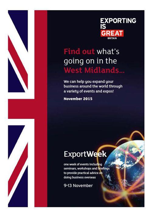 Events brochure - November