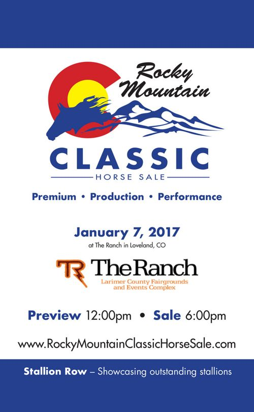 2017 Rocky Mountain Classic Horse Sale