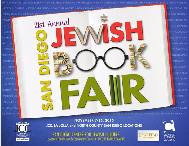 San Diego Jewish Book Fair Brochure 2015