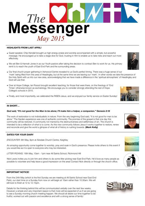 The Messenger - May 2015