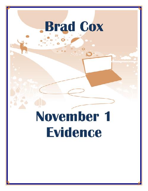 Cox Nov