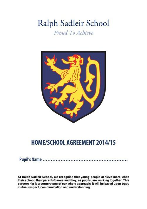 home schooling leaflet