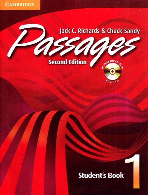 Passages 1, second edition, student book.