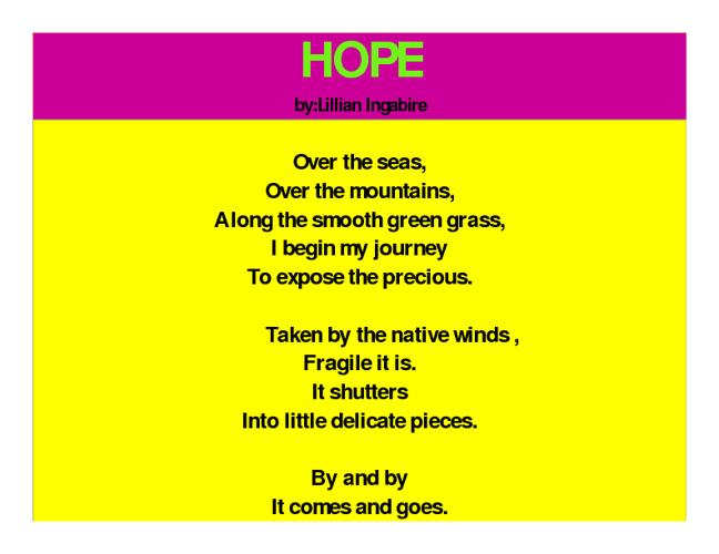Inspiring Words of Poetry