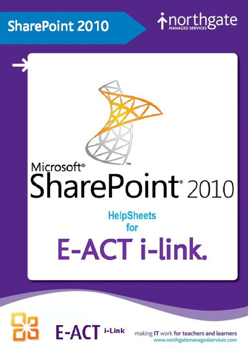 E-Act i-Link HelpSheets