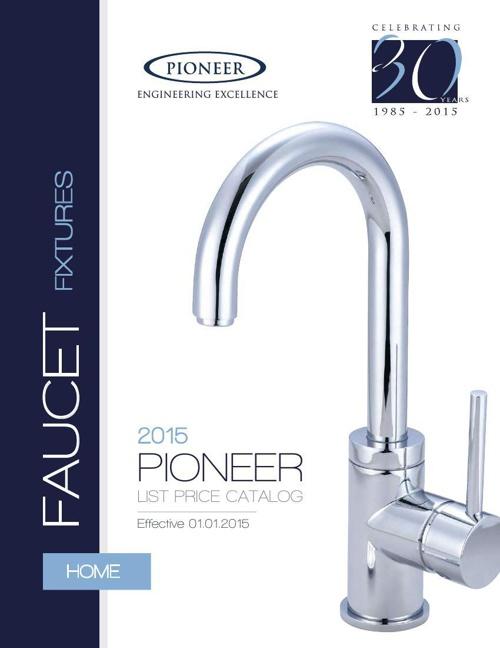 Pioneer List Price Catalog 2015
