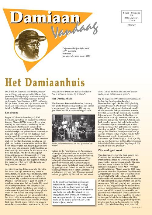 Damiaan Vandaag jrg 13 01
