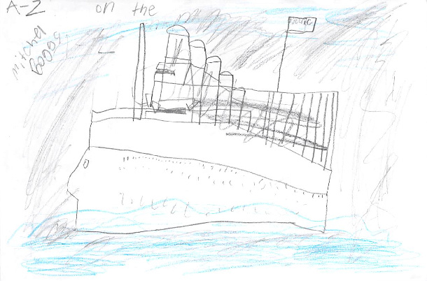 A-Z on the Titanic by Mitchel B.