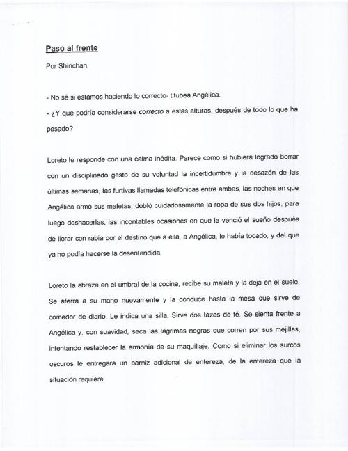PASO AL FRENTE - SHINCHAN