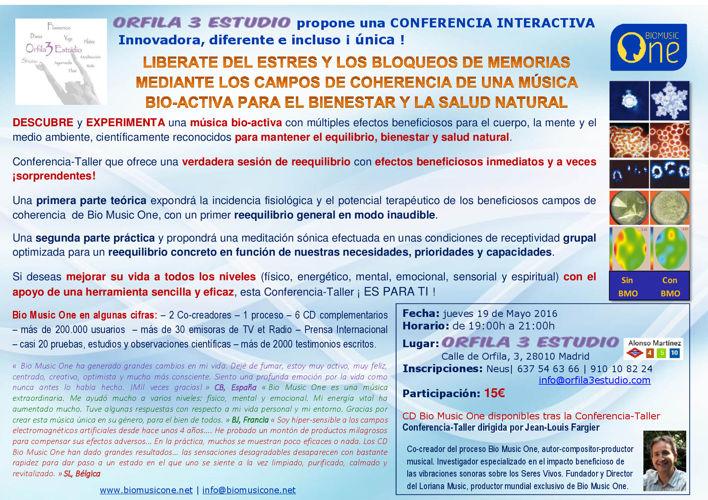 BMO Conferencia + EIA 19-Mayo-2016 Madrid