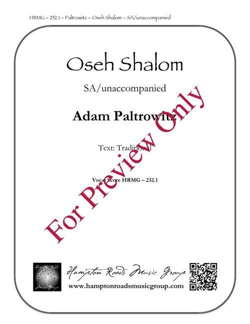 Oseh Shalom SA  232.1