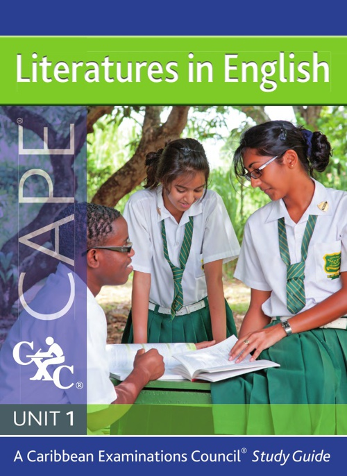 CAPE 1 Literatures In English