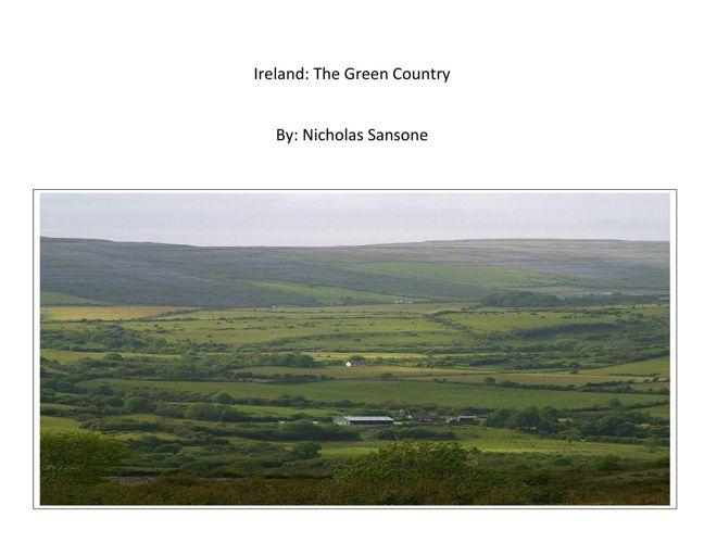 Nick: Ireland