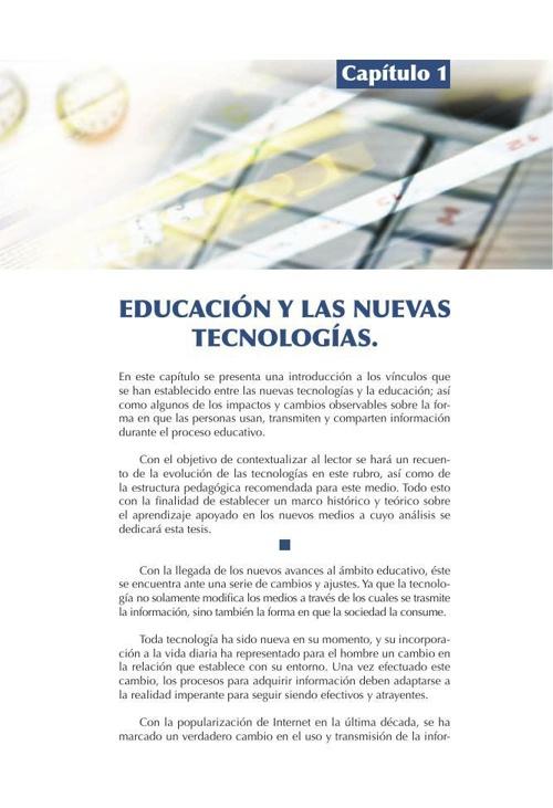 Educación y las nuevas tecnologías
