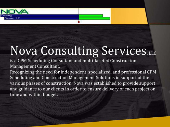 CPM Construction Scheduling Consultants