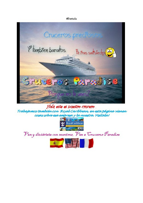 Cruceros Paradise