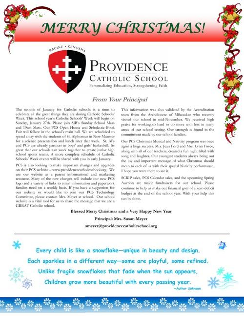 December Providence Post