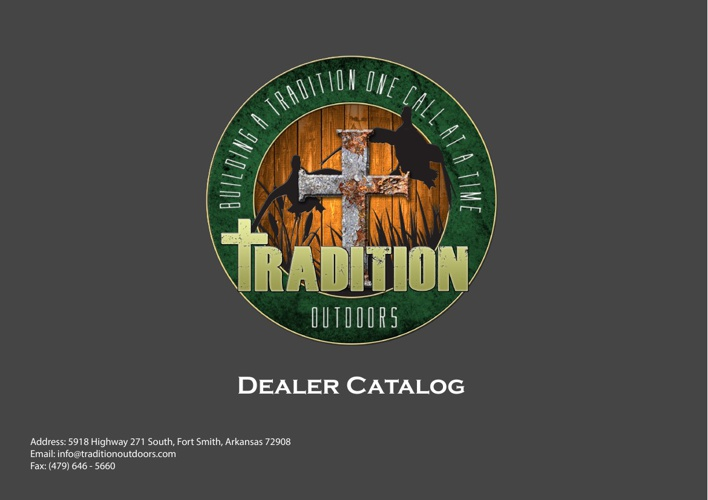 Tradition Outdoors Dealer Catalog