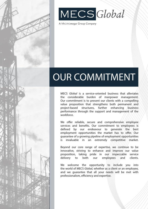MECS Global brochure