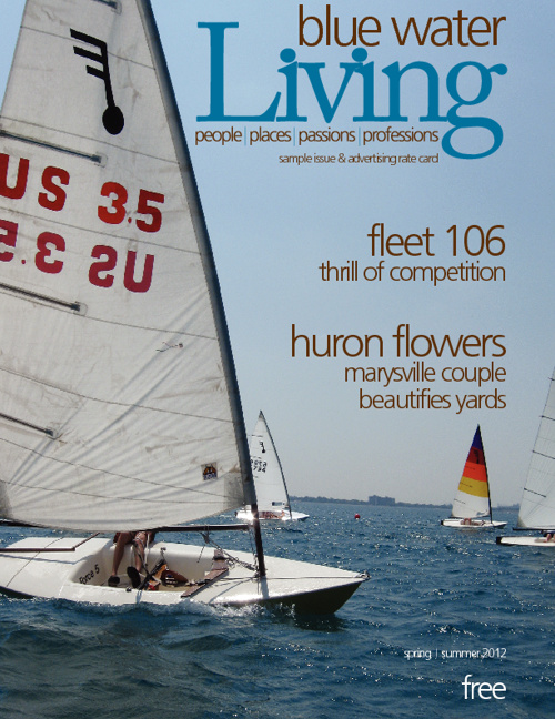 Blue Water Living Sample Issue & Rate Card