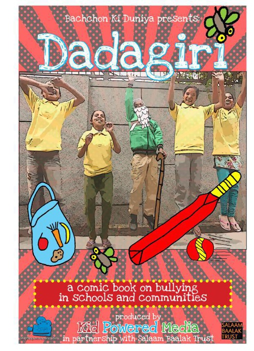 Dadagiri (Bullying) - a comic book by the Bachchon ki Duniya Med