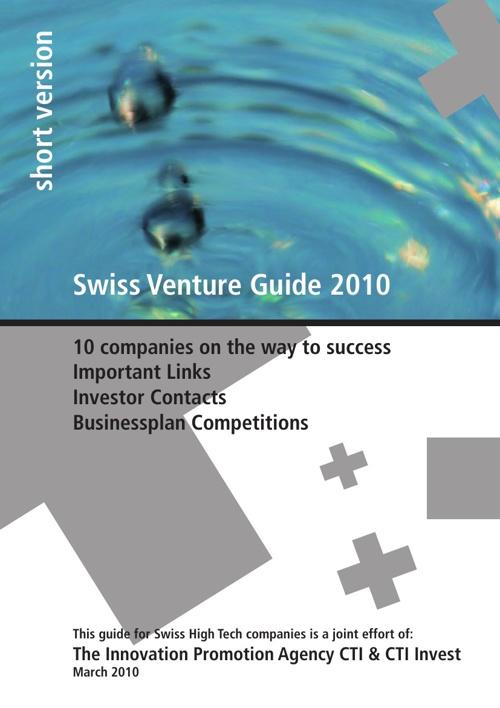 Swiss Venture Guide 2010