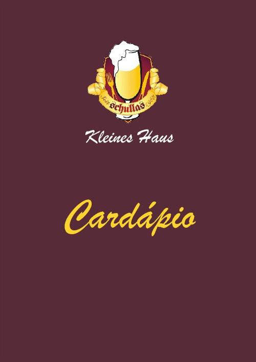 Cardápio Rock's