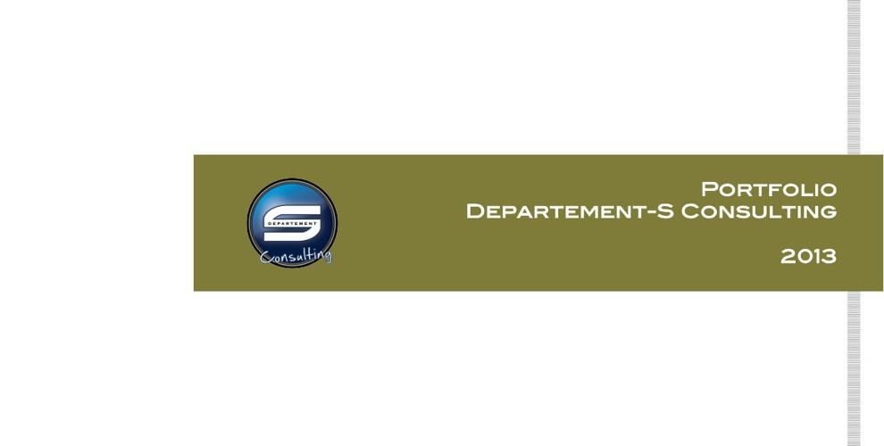 Portfolio Departement-S Consulting 2013_FR