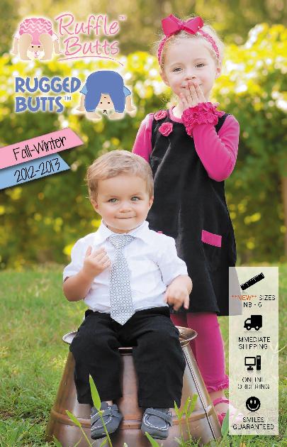 RuffleButts/RuggedButts FALL 2012 Catalog