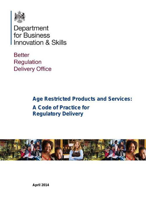Age Restricted Products and Services