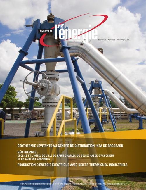 Revue La Maîtrise de l'énergie - Vol. 28 No 1