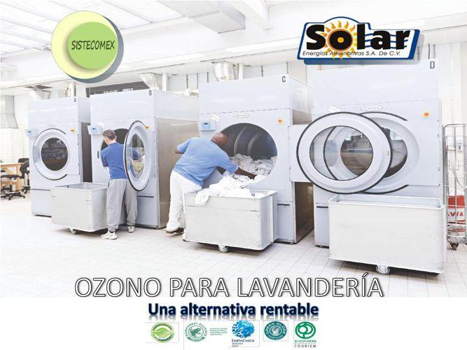 SISTECOMEX INYECCIÓN DE OZONO PARA LAVANDERIA