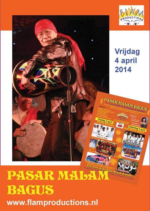 Pasar Malam Bagus, Rijnhal vrijdag 4 april