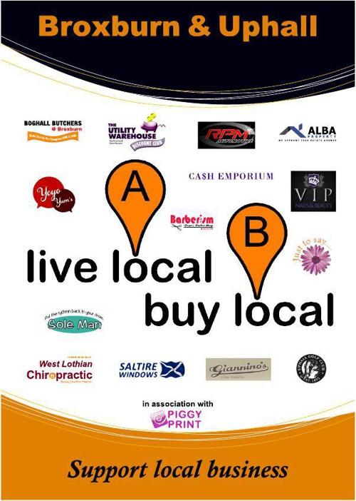 Live Local, Buy Local Brox&Uphall Apr 14